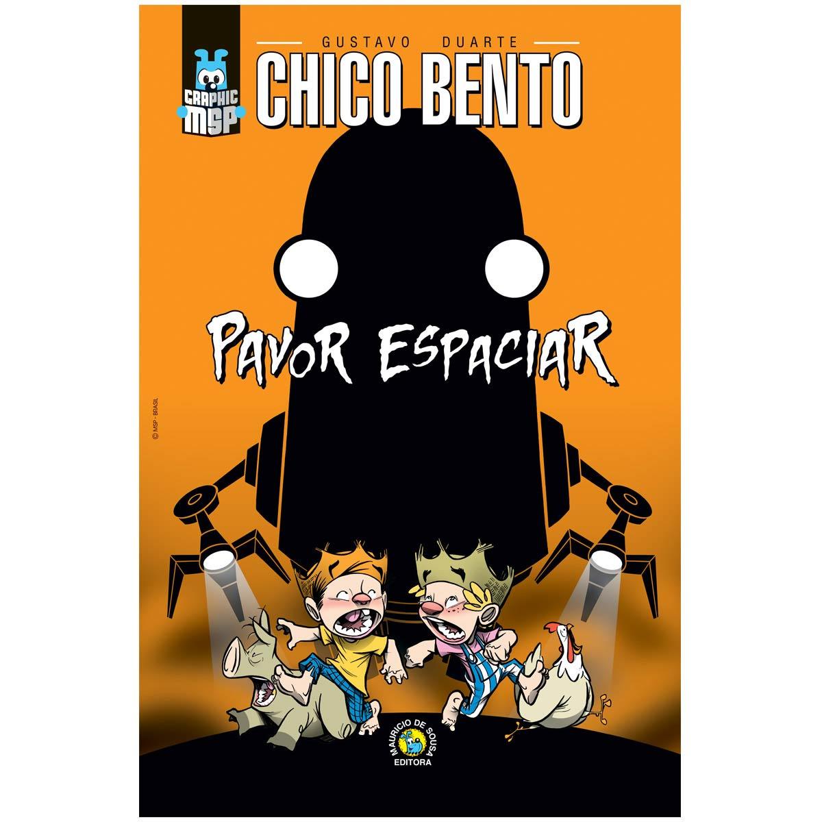 Poster Turma da Mônica Toy Chico Bento Pavor Espaciar