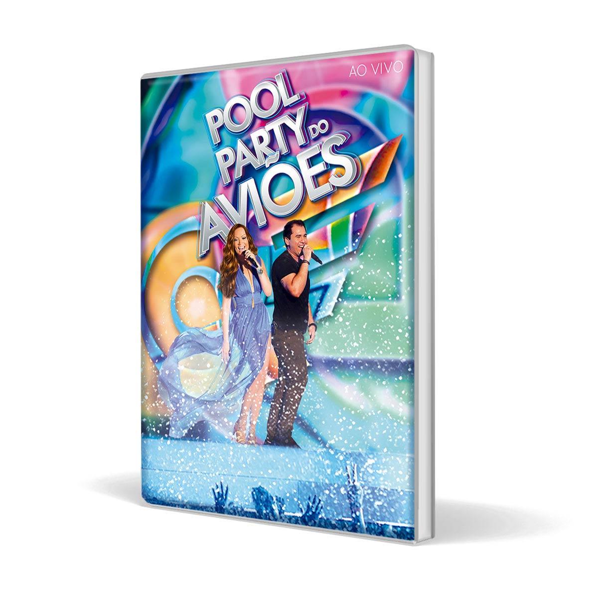 Combo DVD Pool Party do Aviões Ao Vivo + Camiseta Feminina