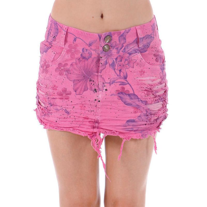Saia Jeans Luan Santana Summer Pink