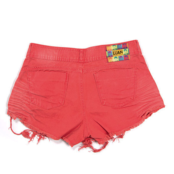 Shorts Saia Jeans Luan Santana Red Passion