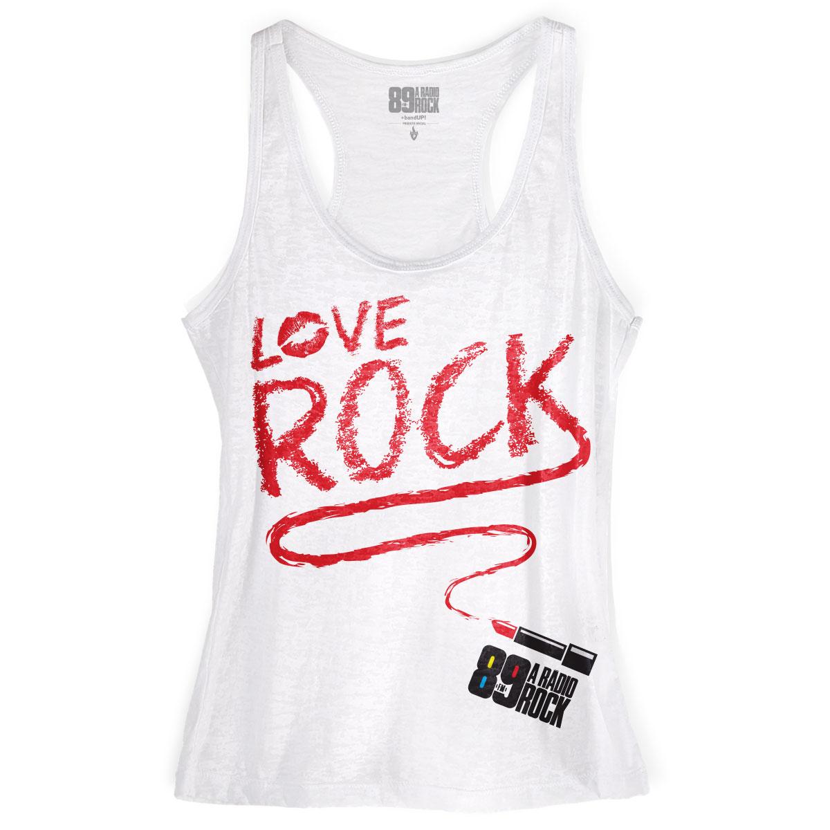 Regata Nadador Feminina 89FM Love Rock
