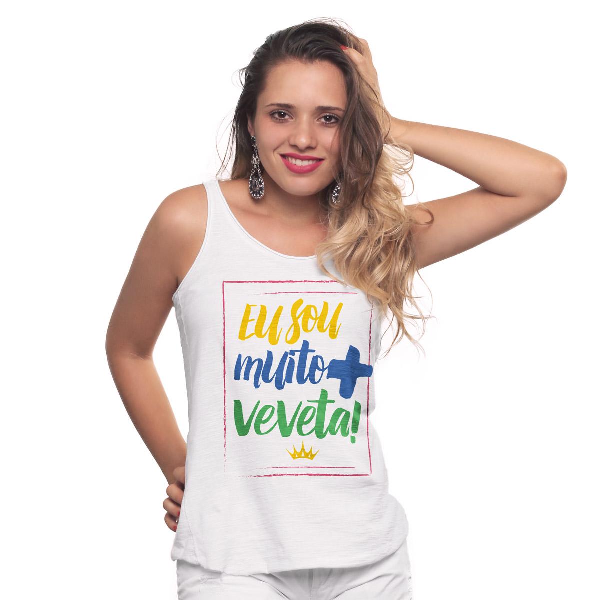 Regata Premium Feminina Ivete Sangalo Eu Sou Muito + Veveta