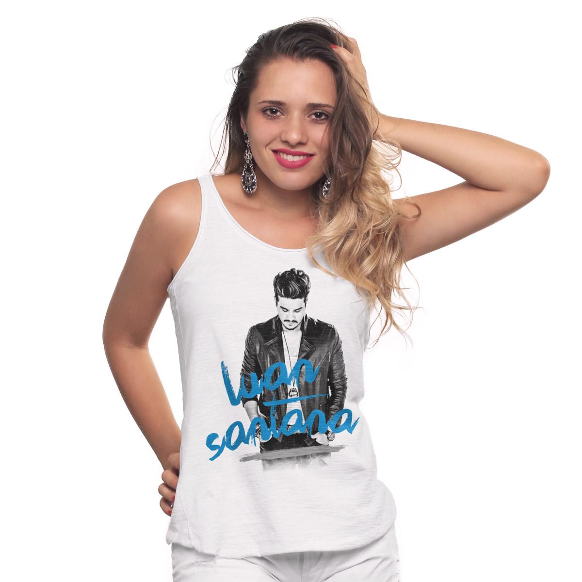 Regata Premium Feminina Luan Santana Duetos