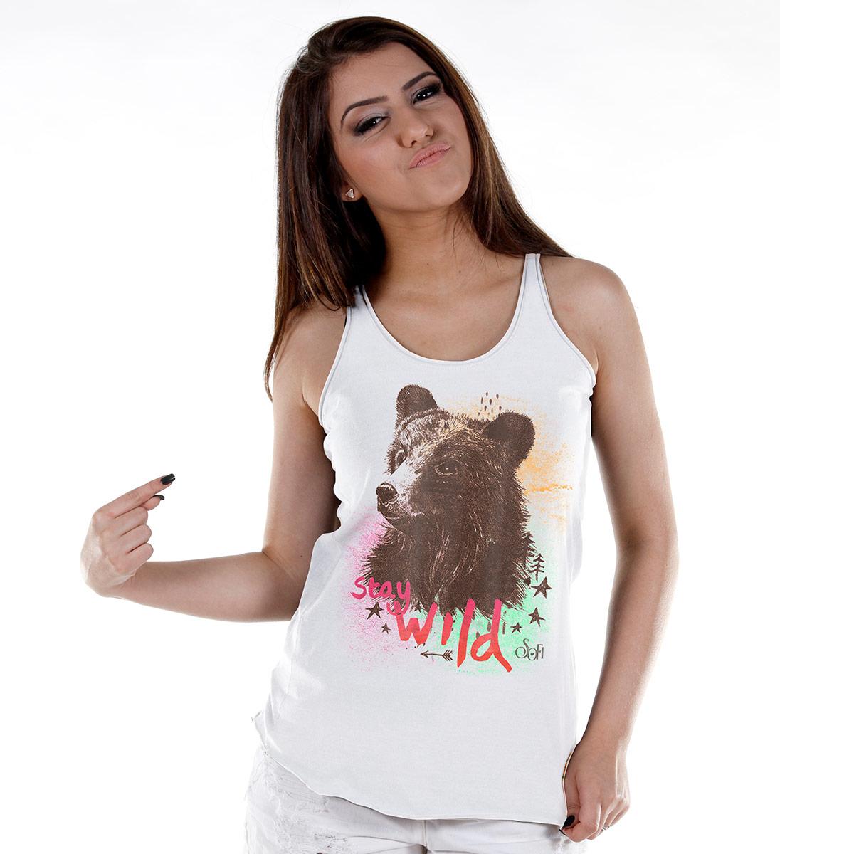 Regata Premium Feminina Sofia Oliveira Stay Wild