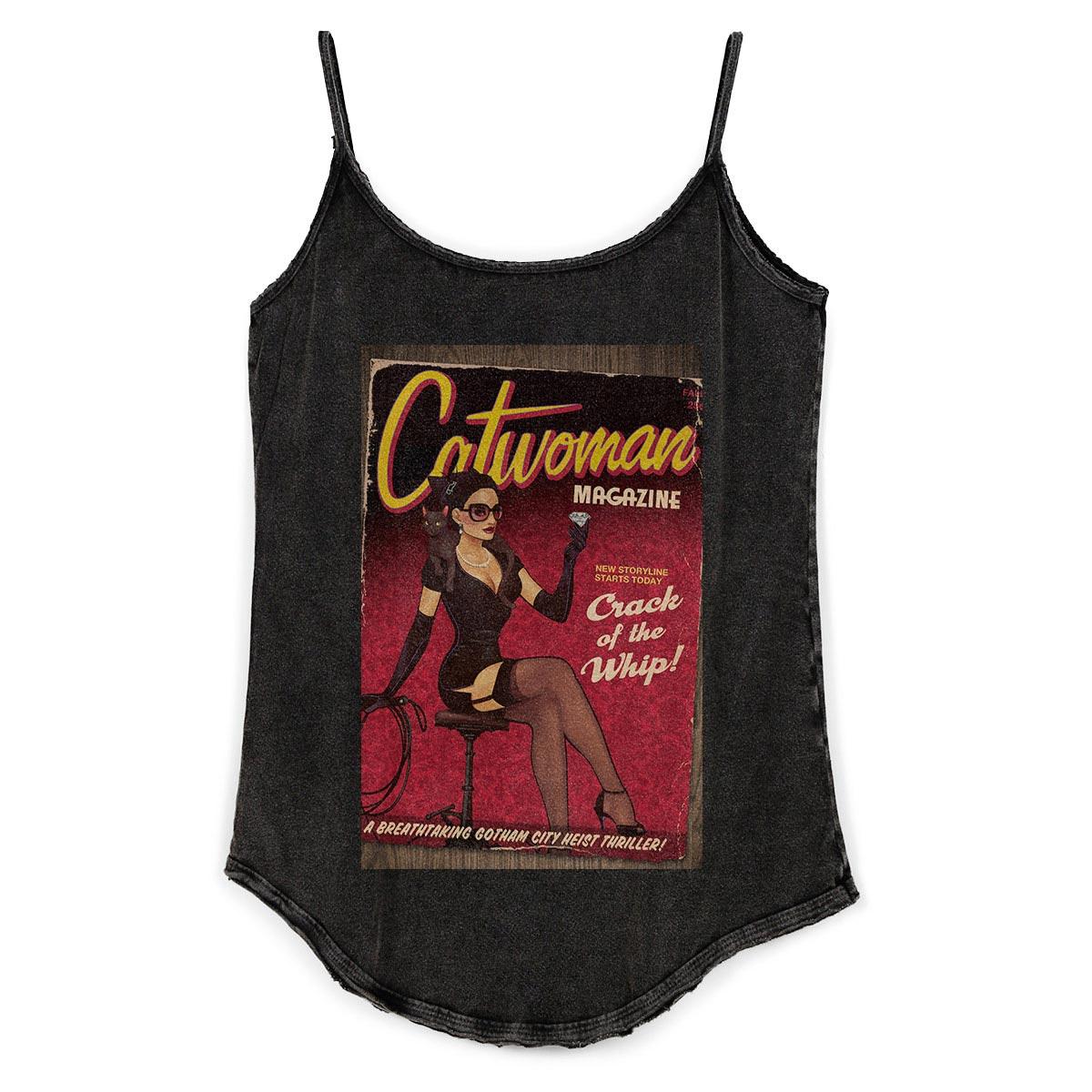 Regatinha Feminina Catwoman Magazine