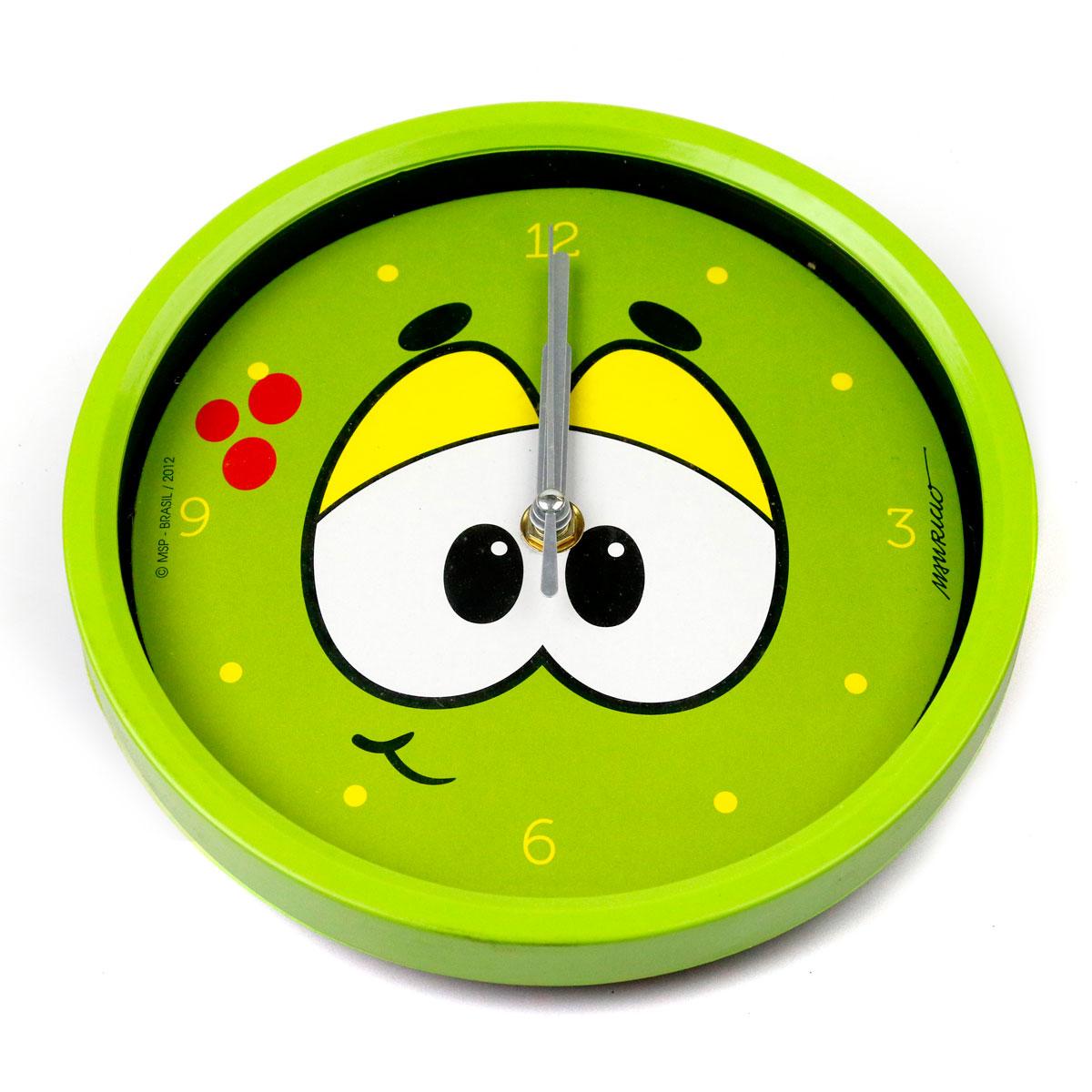 Relógio de Parede Turma da Mônica Cool Olhões Horácio