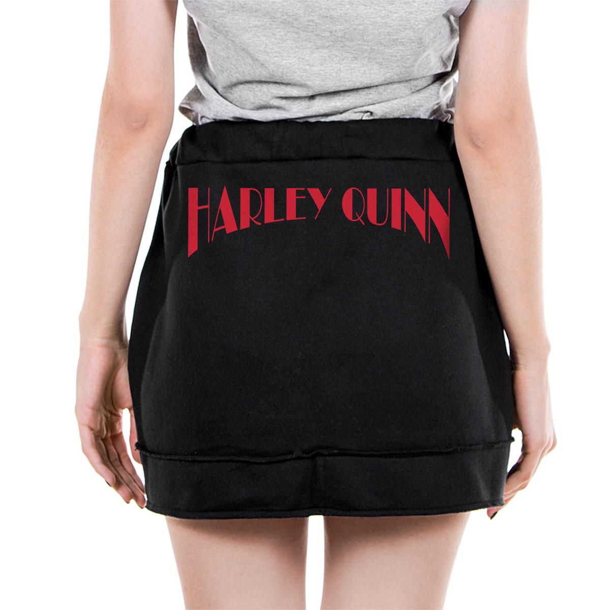 Saia de Moletom Harley Quinn Naipes