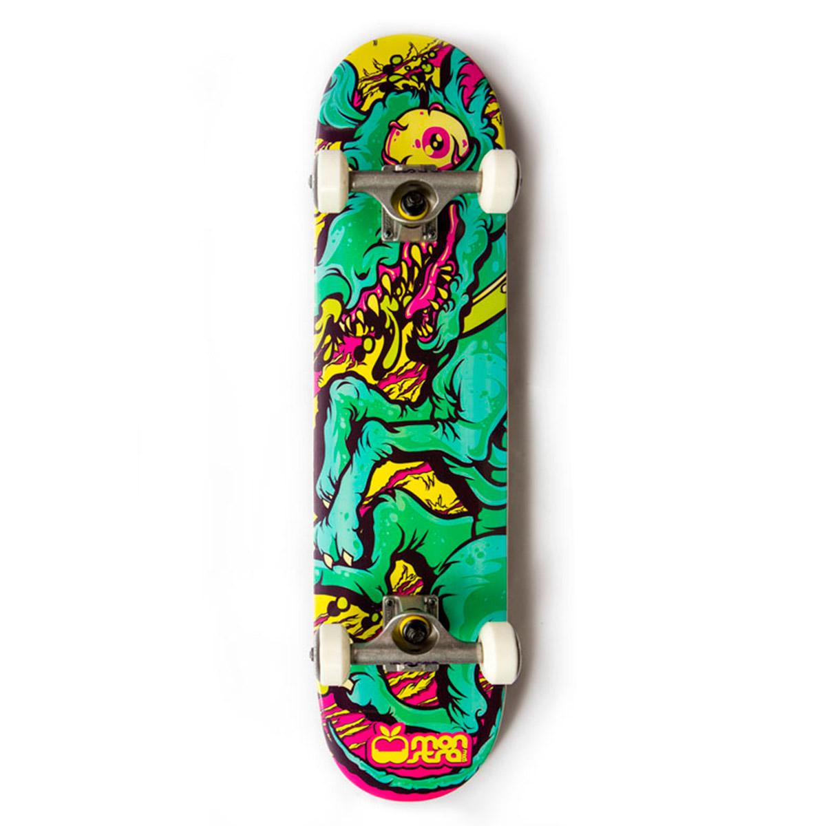 Skate Completo Monstra Maçã Crazy Dog