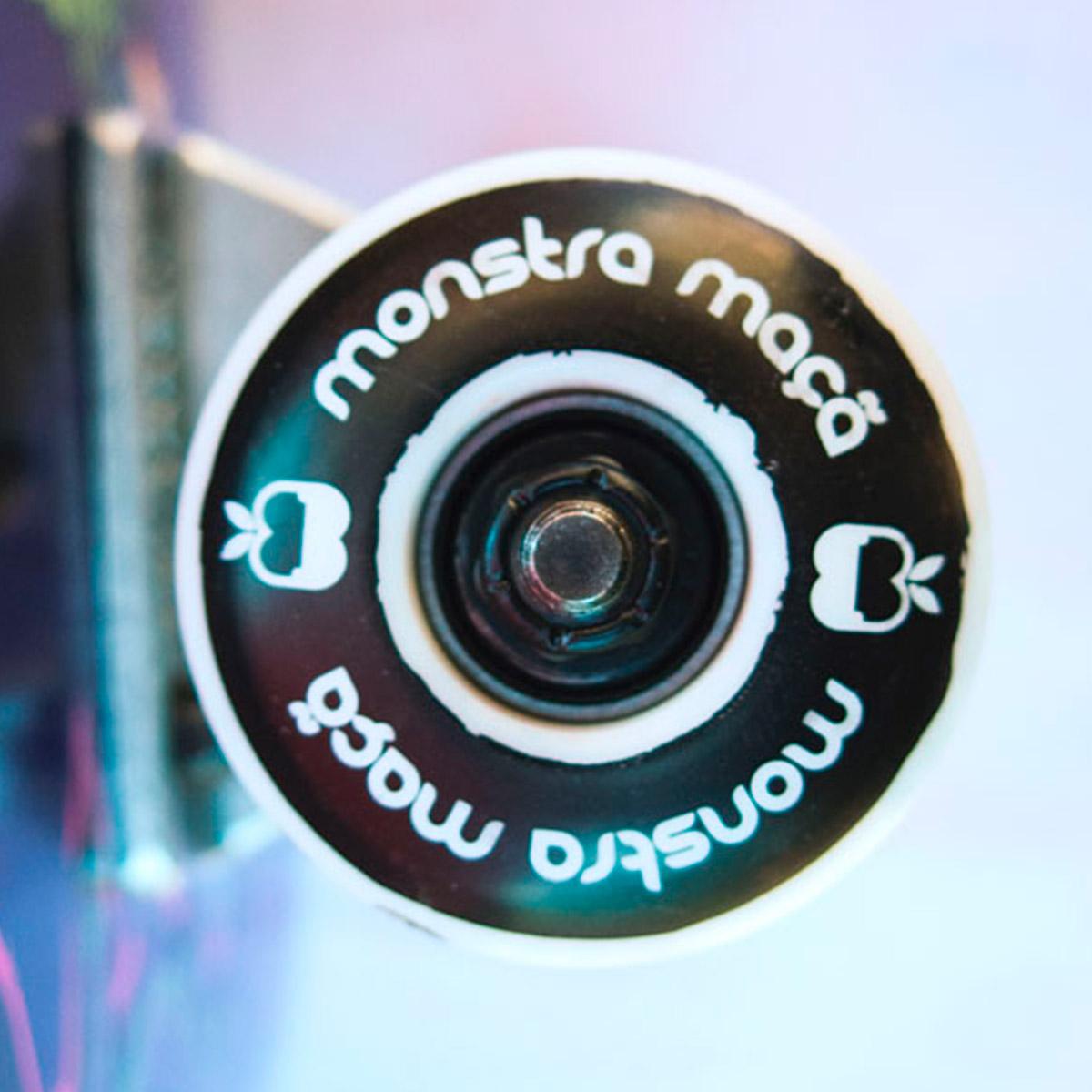 Skate Completo Monstra Maçã Monsters