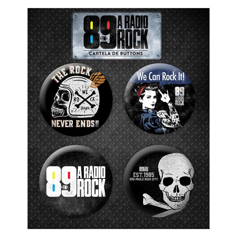 Super Combo Masculino 89 FM A Rádio Rock The Rock Never Ends