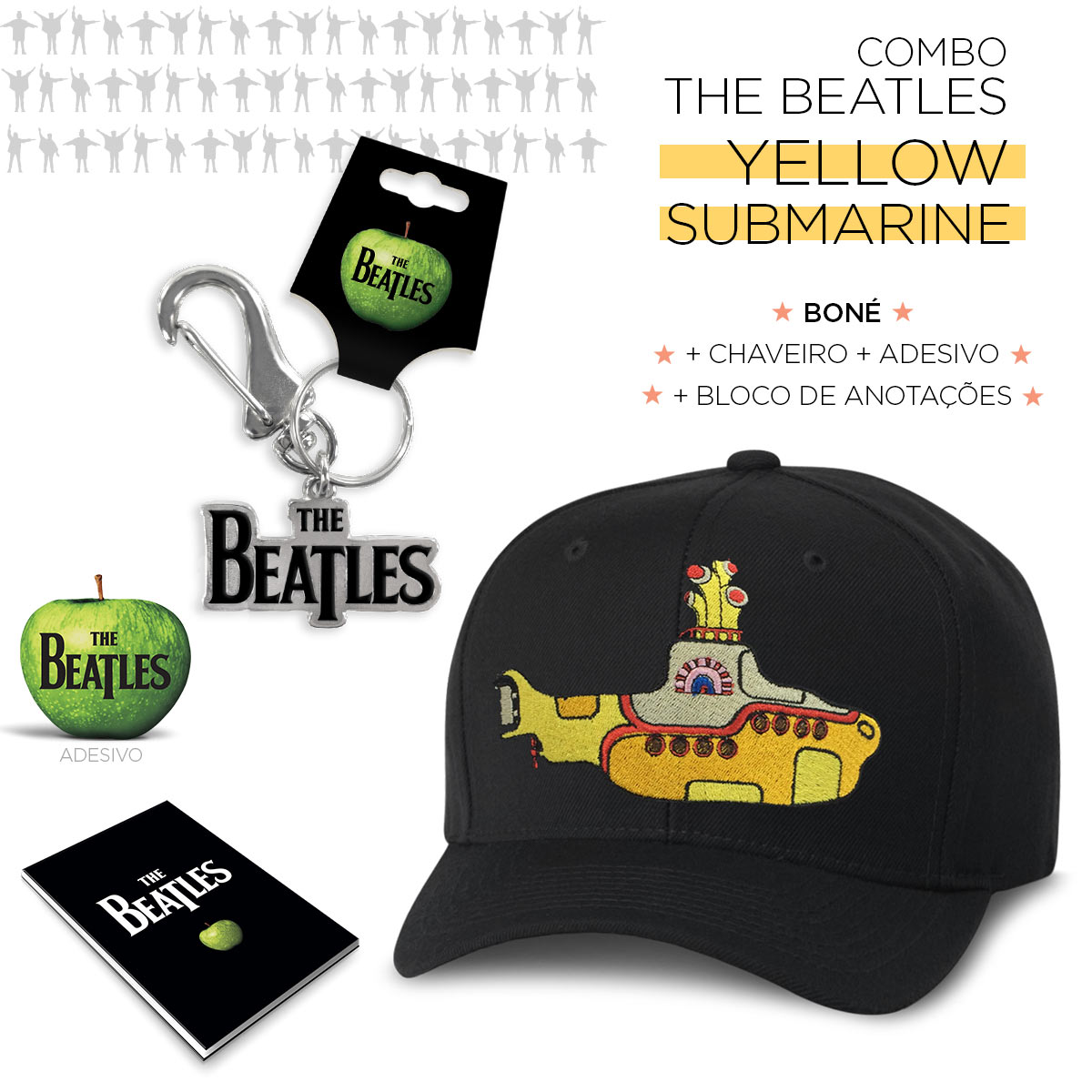 Super Combo The Beatles Yellow Submarine