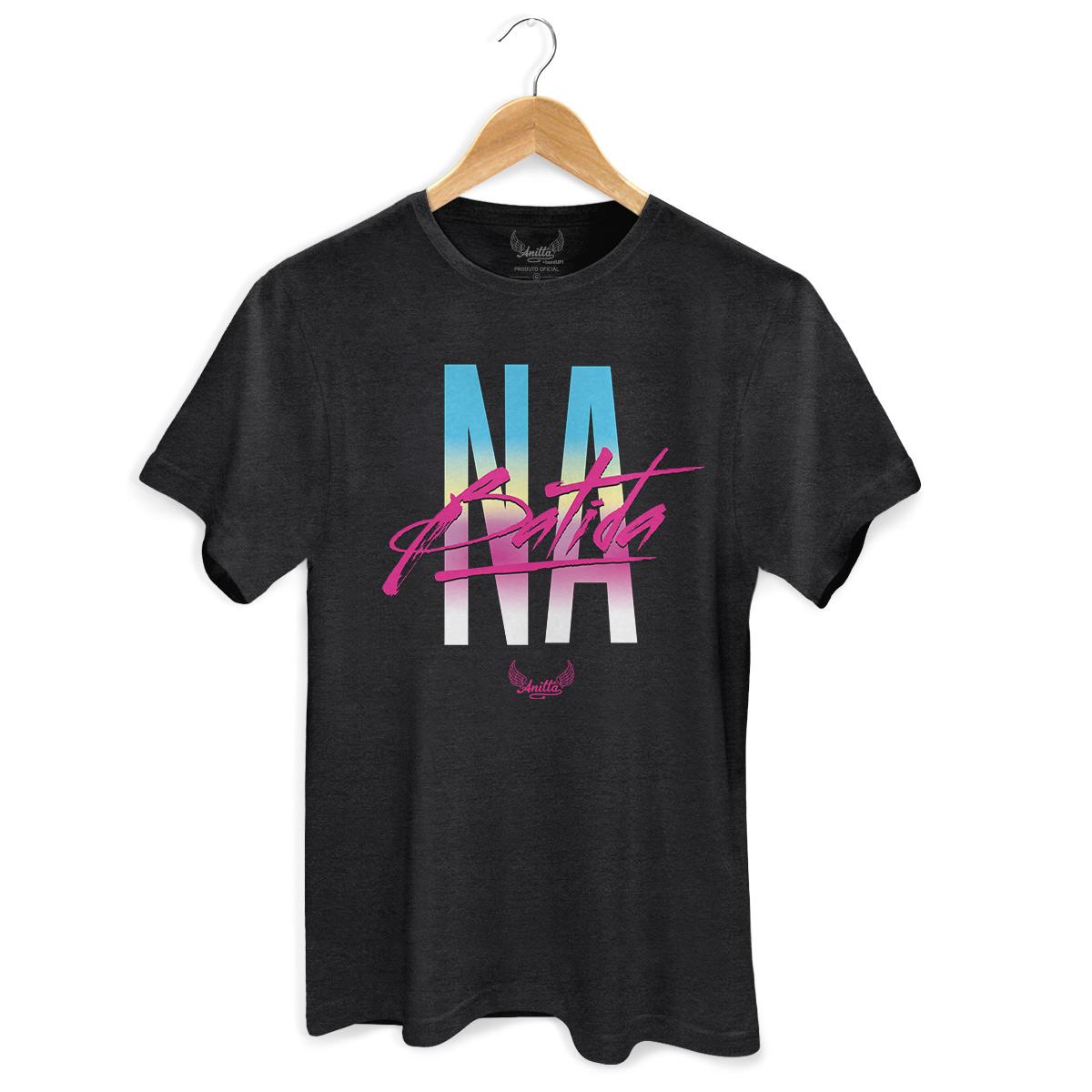 T-shirt Premium Anitta Na Batida Type