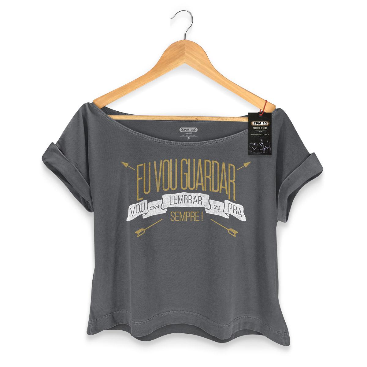 T-shirt Premium Feminina CPM 22 Pra Sempre