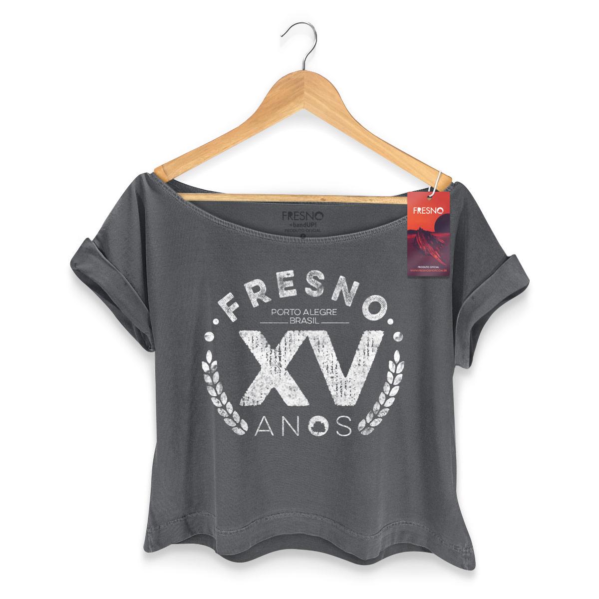 T-shirt Premium Feminina Fresno XV Anos