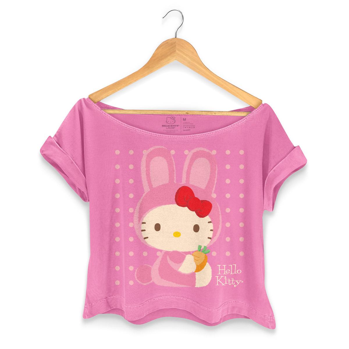 T-shirt Premium Feminina Hello Kitty Costume