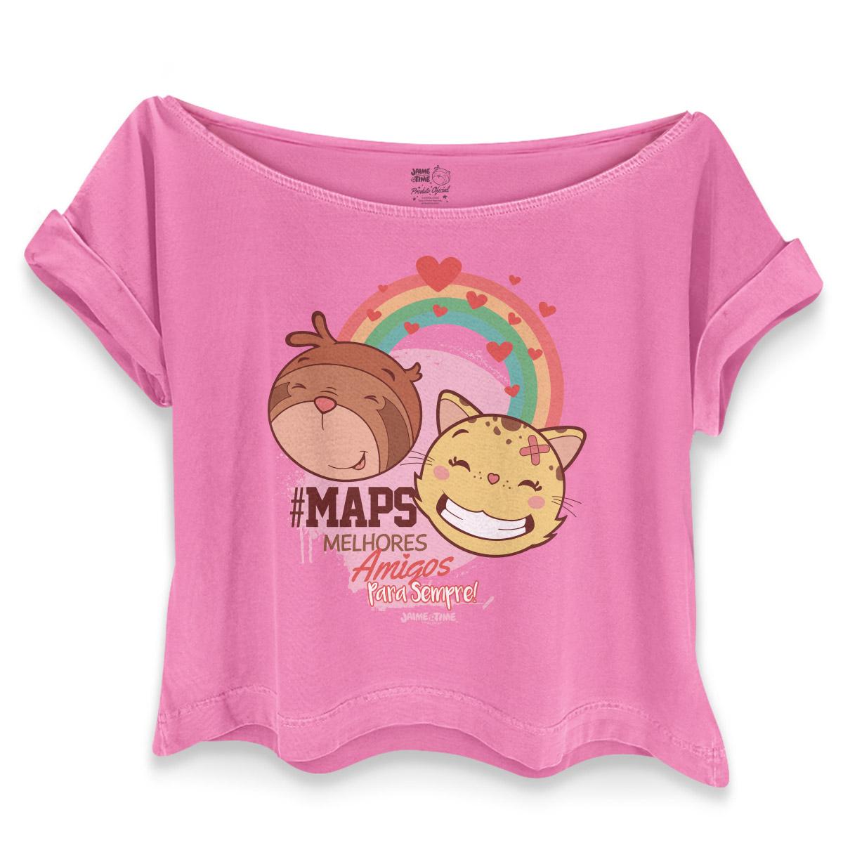 T-shirt Premium Feminina Jaime #Maps