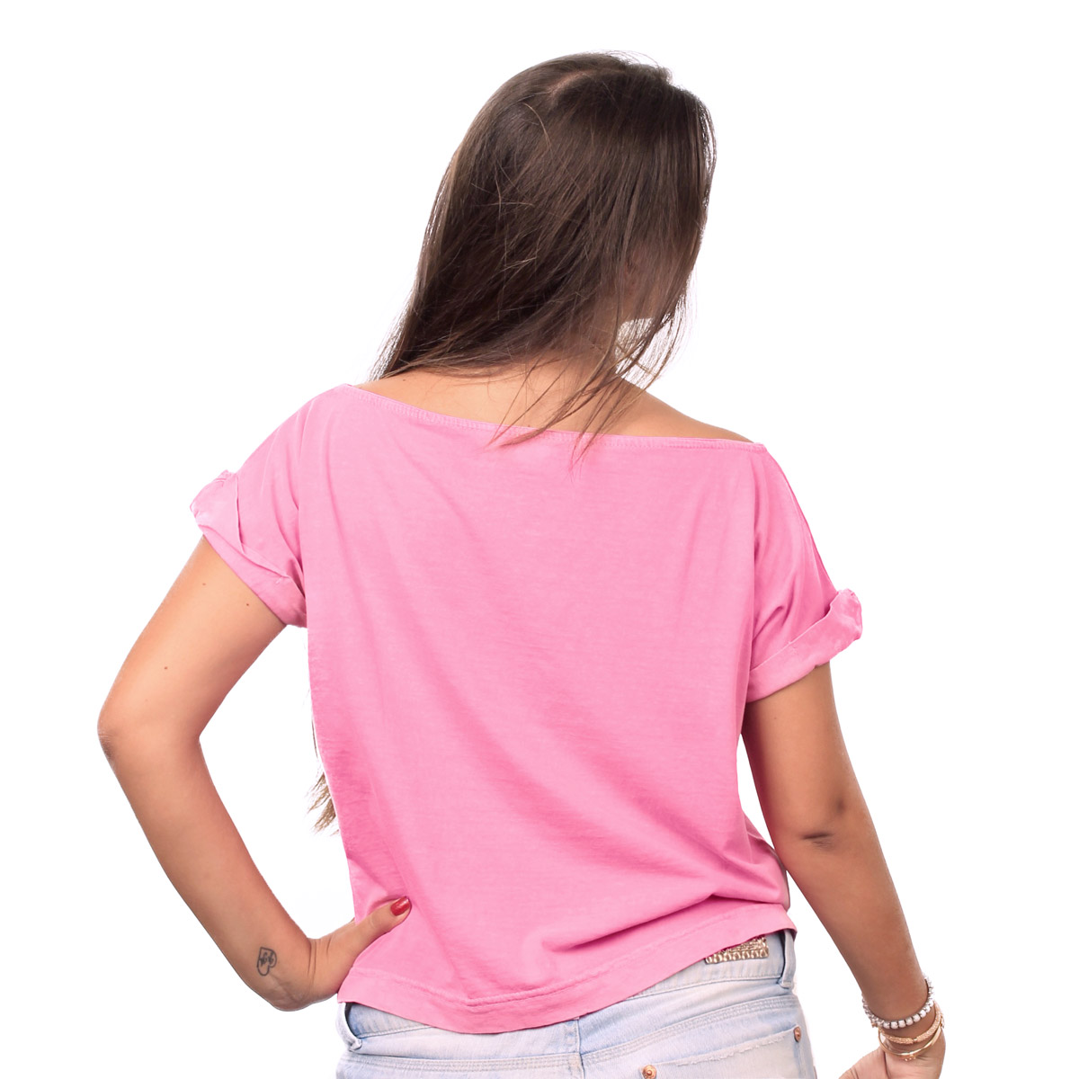 T-shirt Premium Feminina Luan Santana Eu Amo Só Você