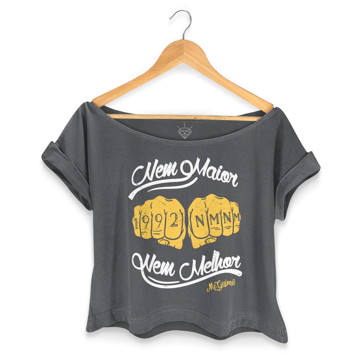 T-shirt Premium Feminina MC Guimê Nem Maior Nem Melhor