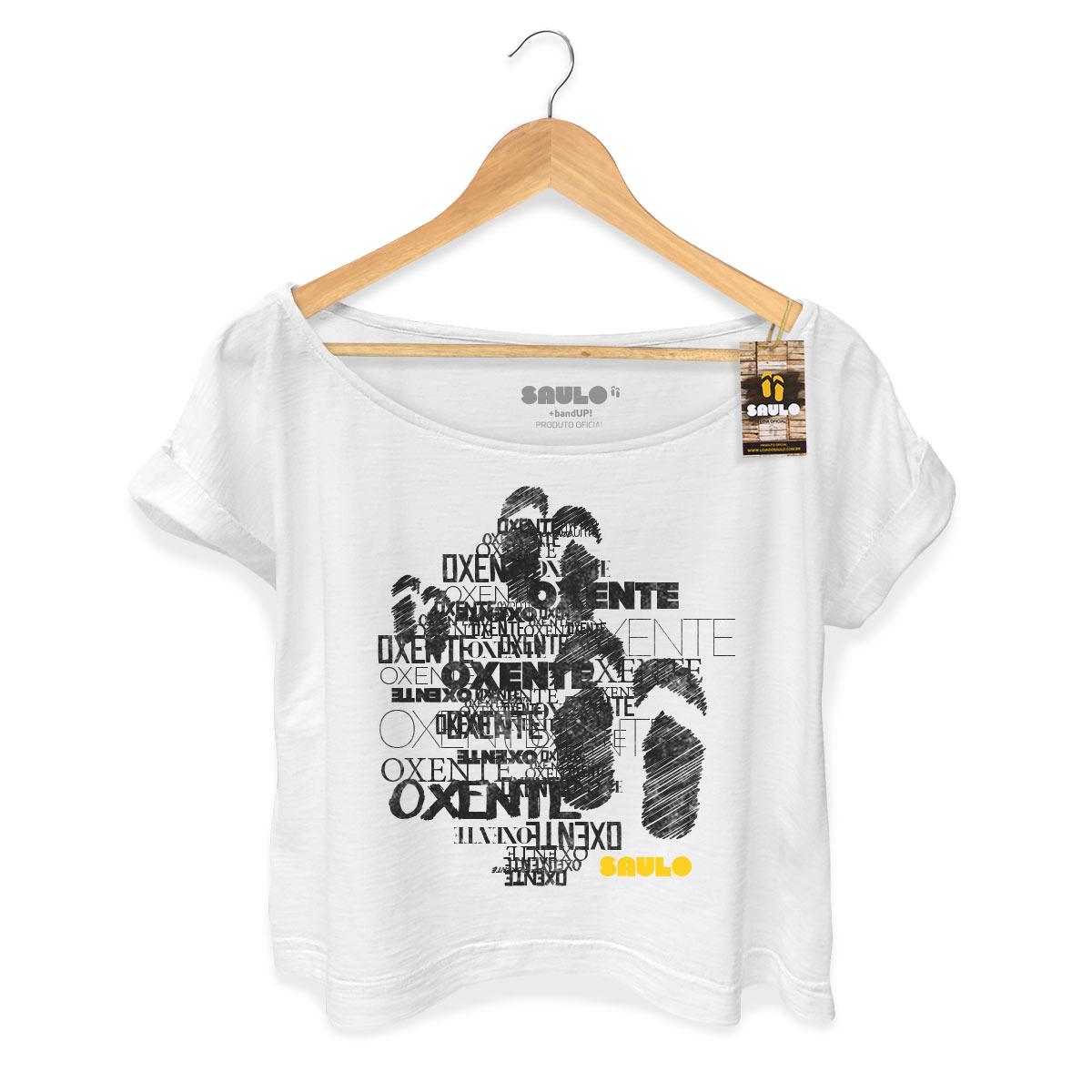 T-shirt Premium Feminina Saulo Oxente