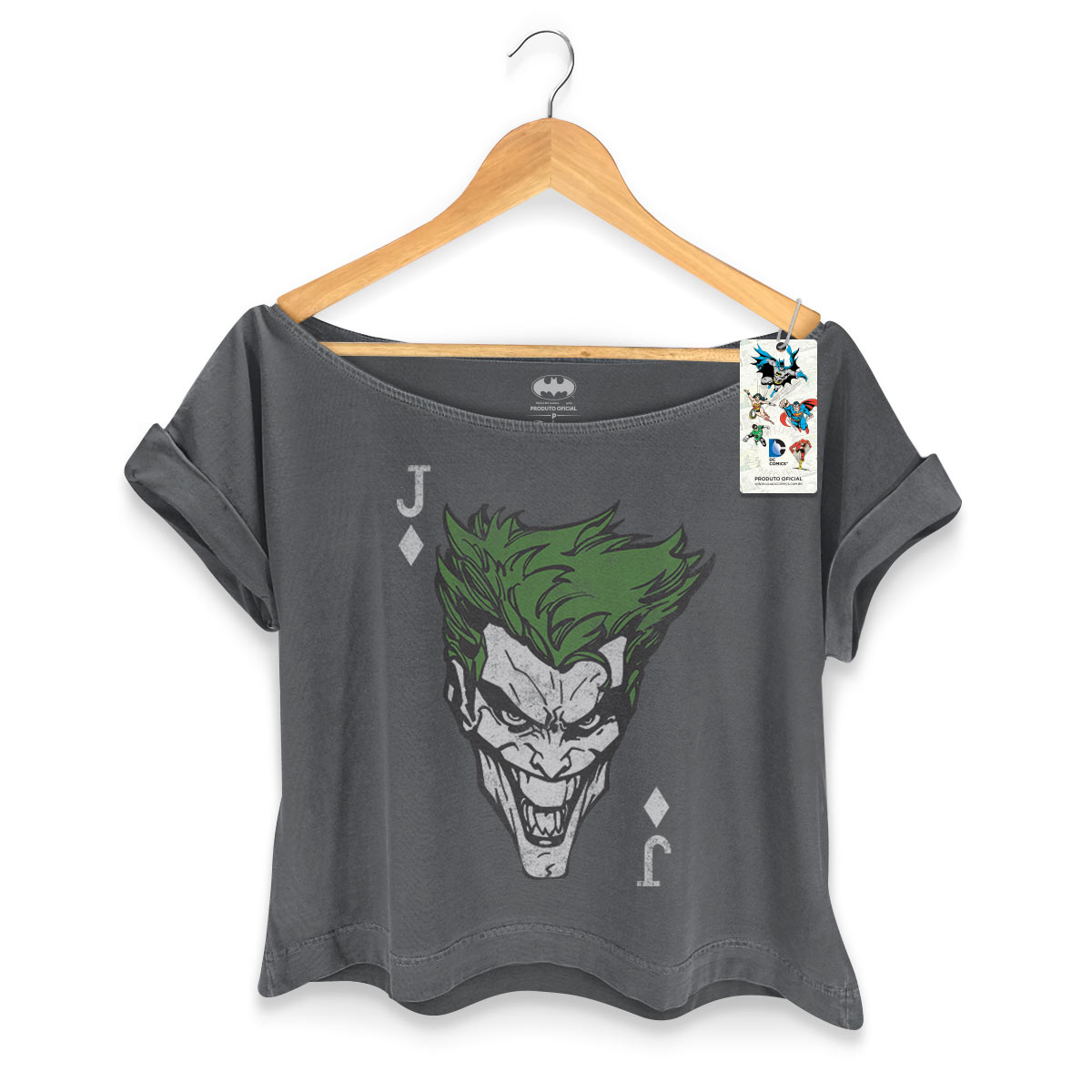 T-shirt Premium Feminina The Joker Card