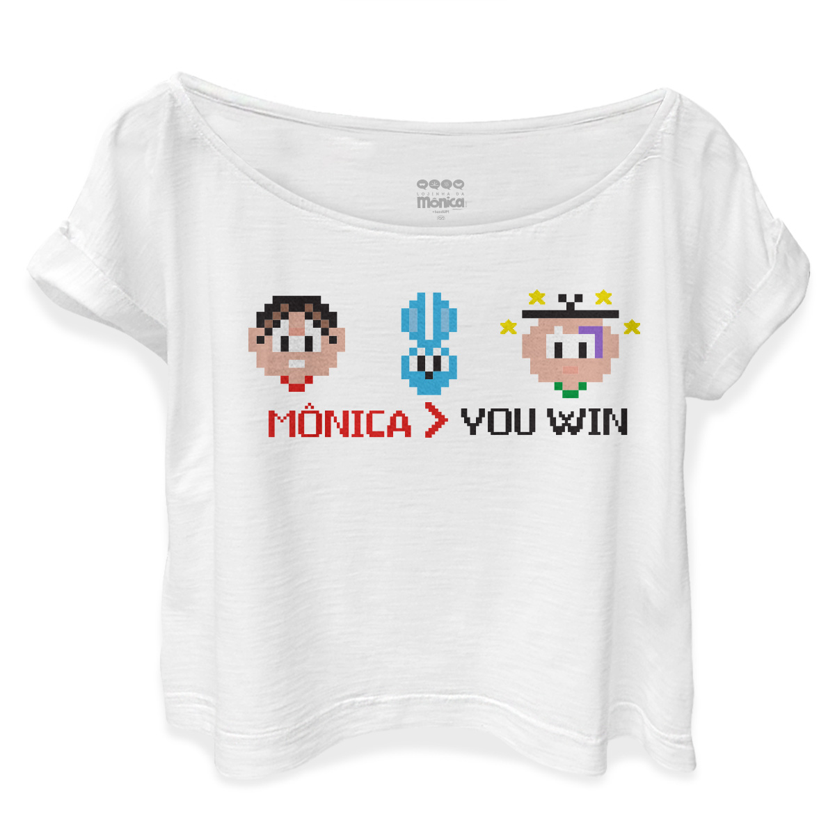 T-shirt Premium Feminina Turma da Mônica You Win
