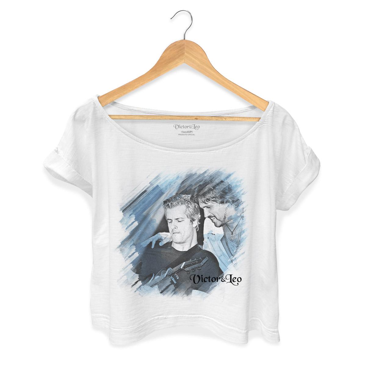 T-shirt Premium Feminina Victor & Leo Perfil
