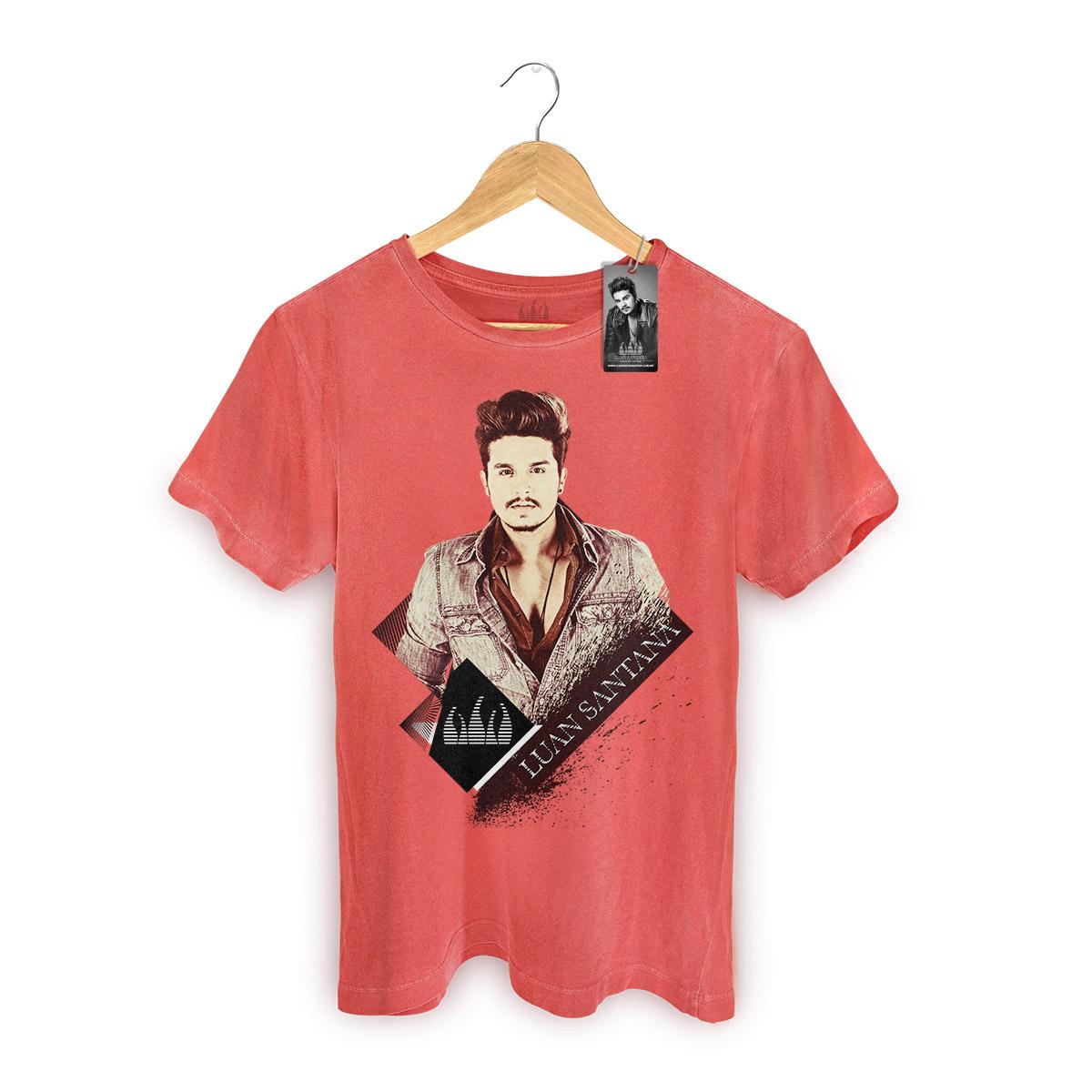 T-shirt Premium Luan Santana Vintage