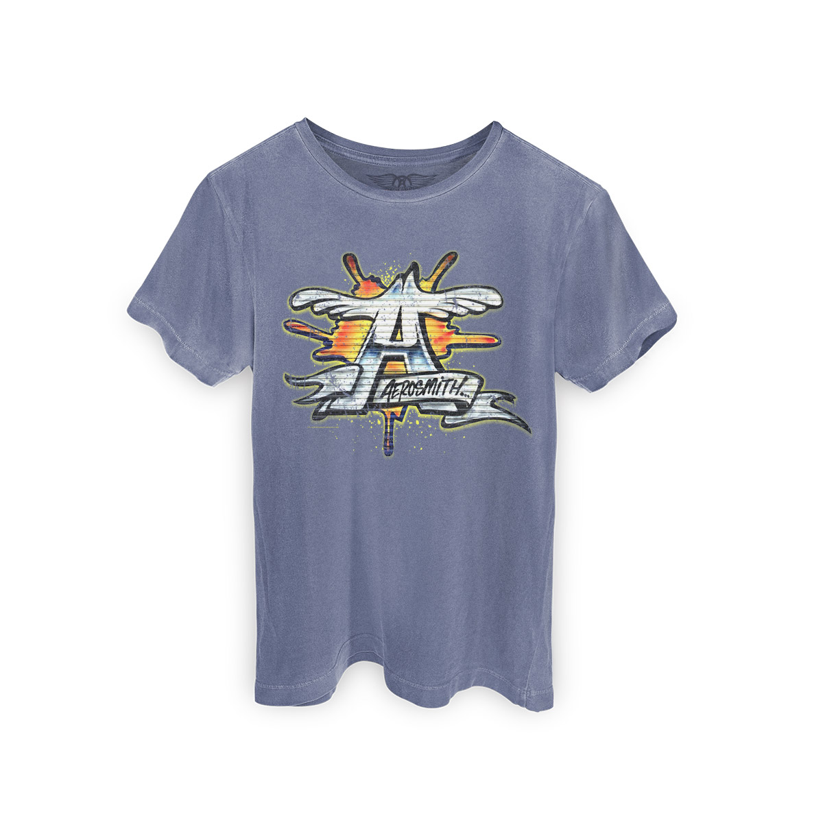 T-shirt Premium Masculina Aerosmith ´A´