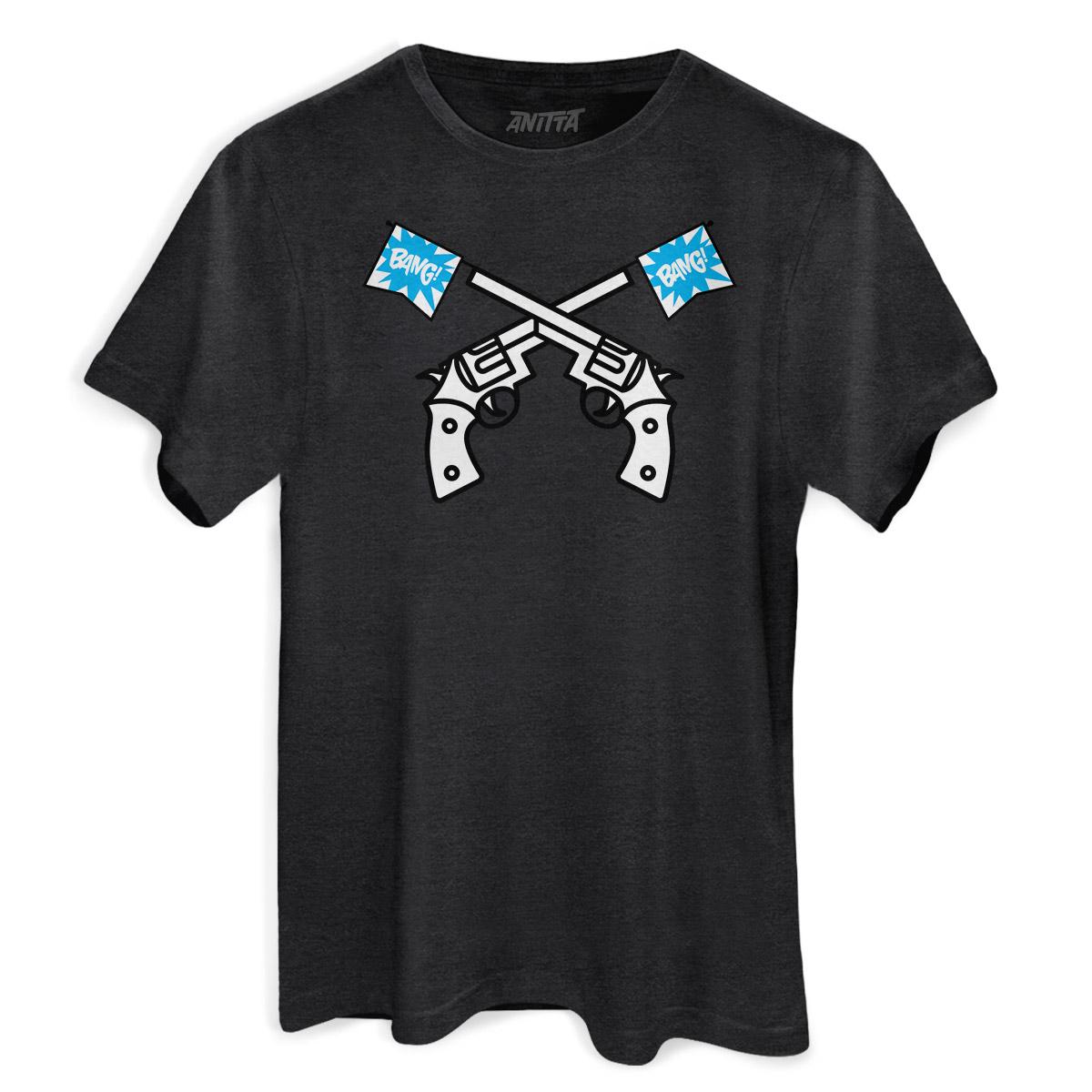 T-shirt Premium Masculina Anitta Bang! Bang!