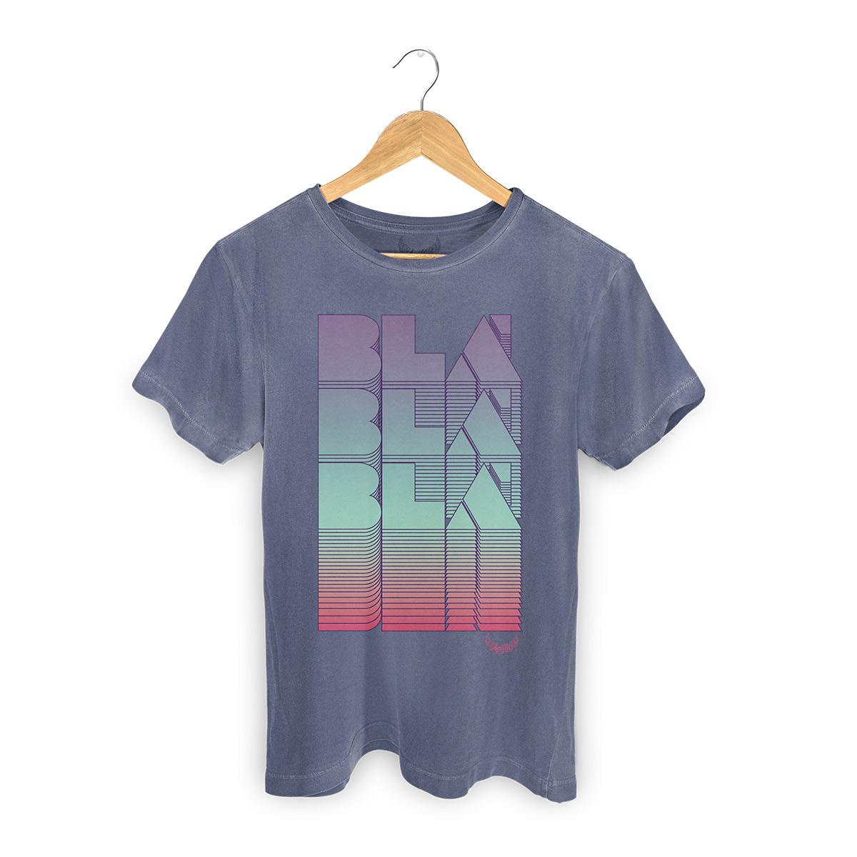 T-shirt Premium Masculina Anitta Blá Blá Blá