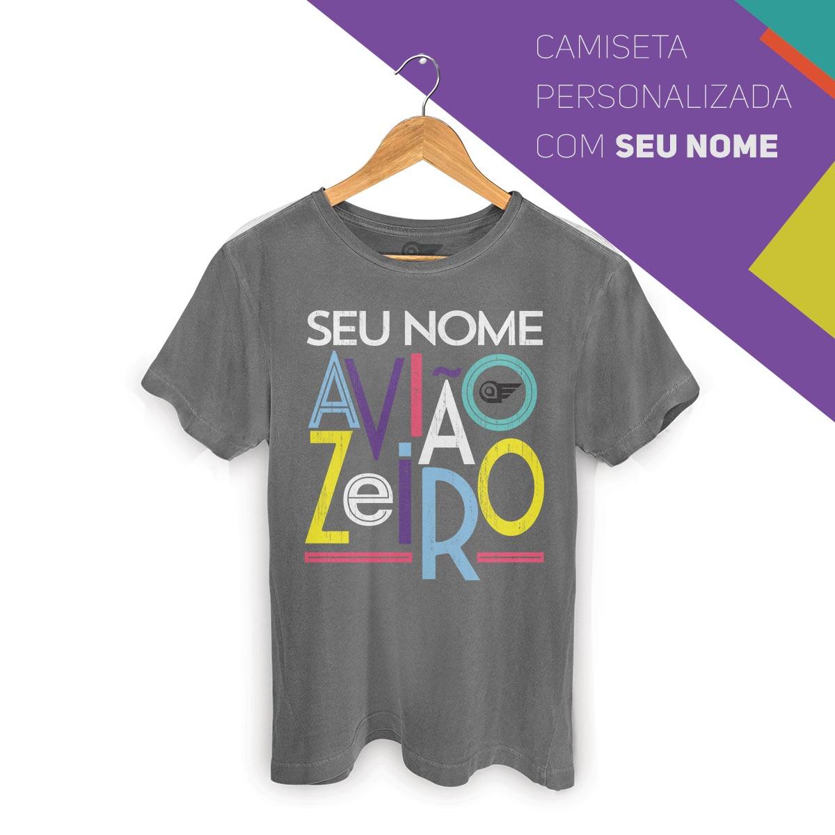 T-shirt Premium Masculina Aviões do Forró Aviãozeiro
