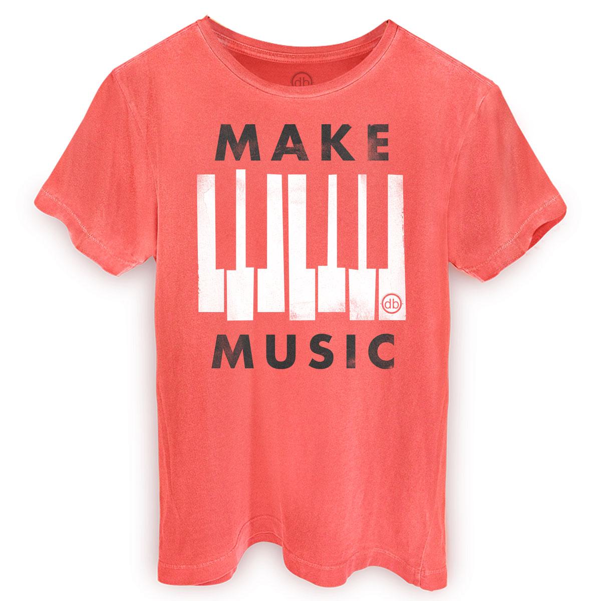 T-shirt Premium Masculina Dudu Borges Make Music