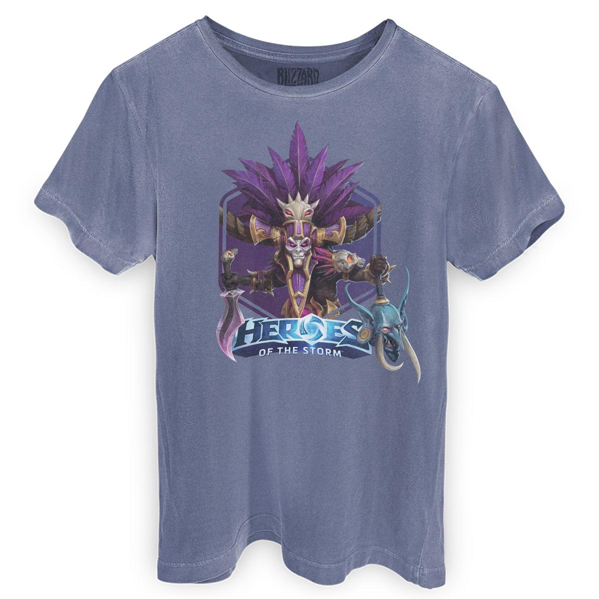 T-shirt Premium Masculina Heroes Of The Storm Nazibu