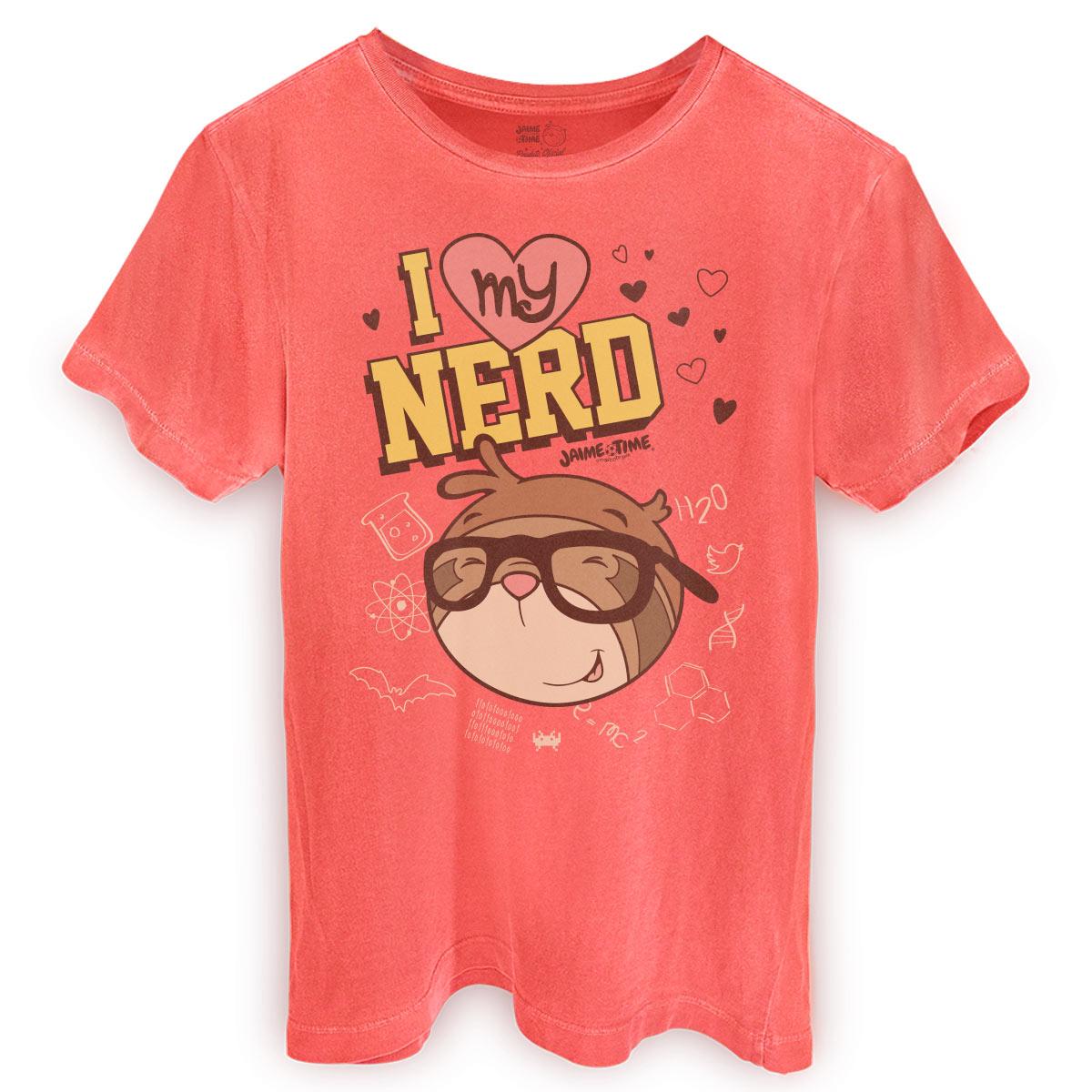 T-shirt Premium Masculina Jaime Nerd