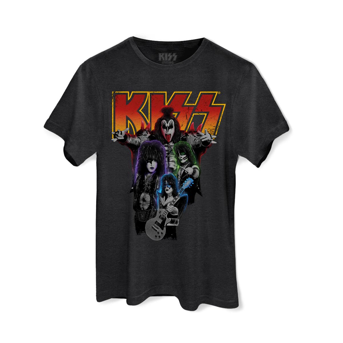 T-shirt Premium Masculina Kiss Kissology