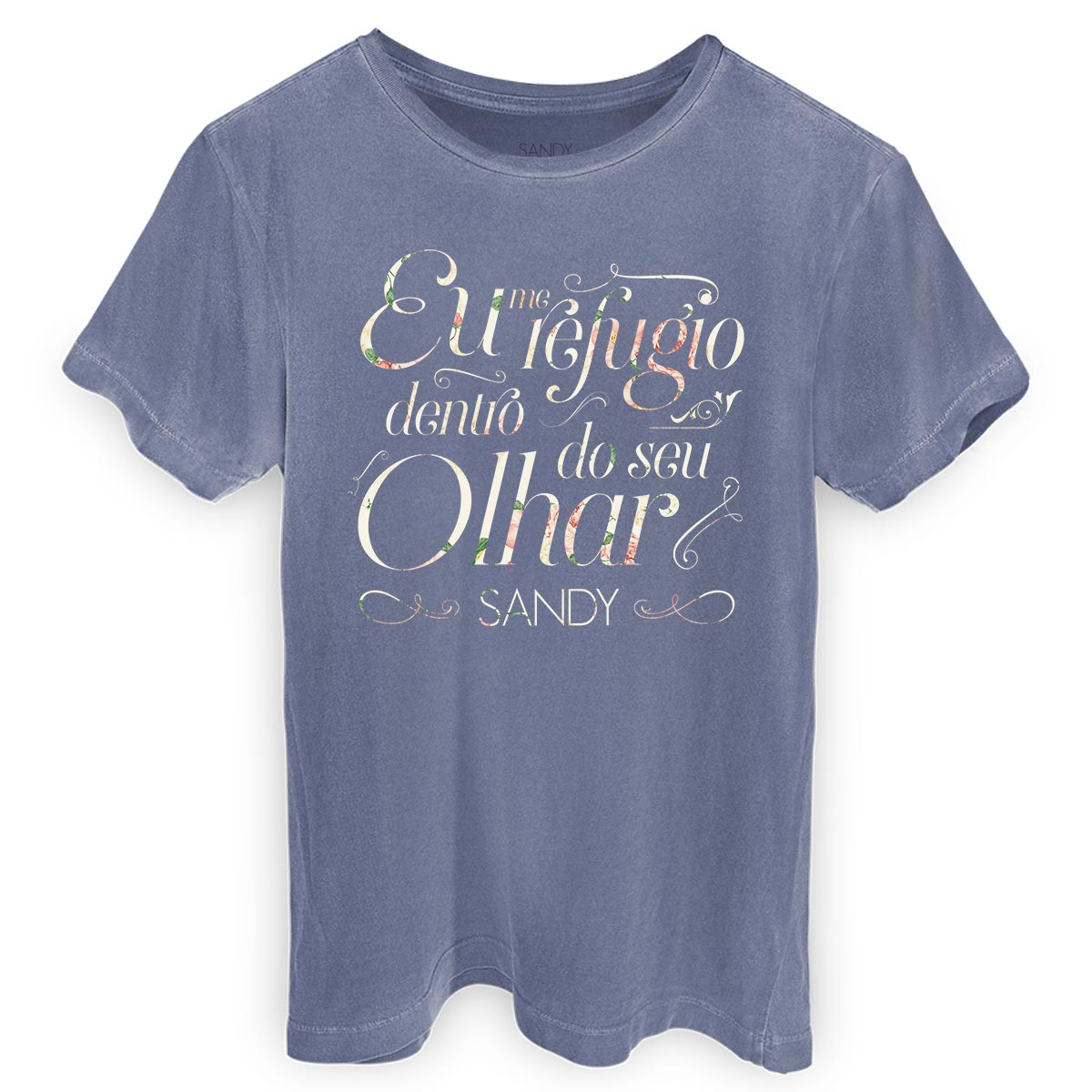 T-shirt Premium Masculina Sandy Refúgio