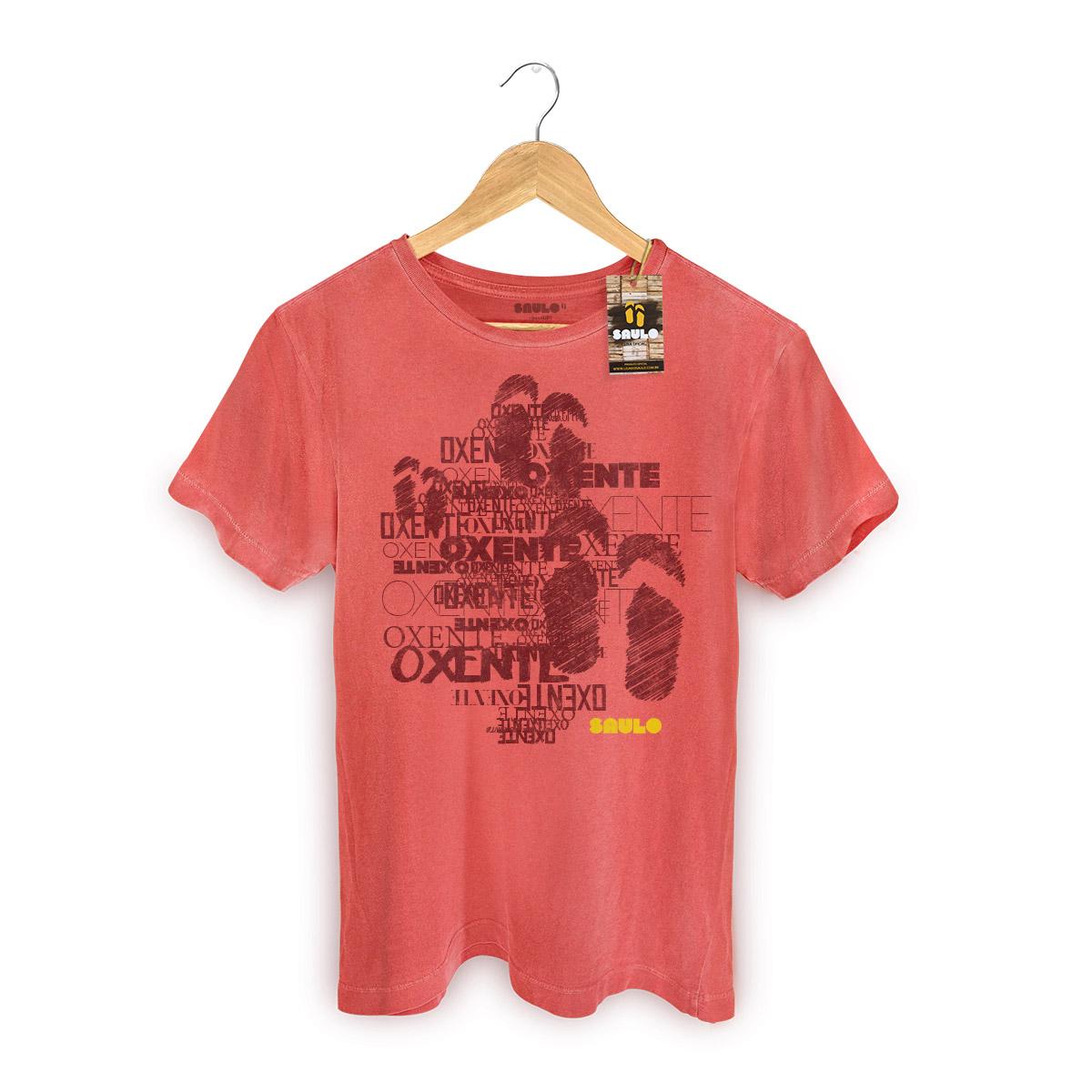 T-shirt Premium Masculina Saulo Oxente