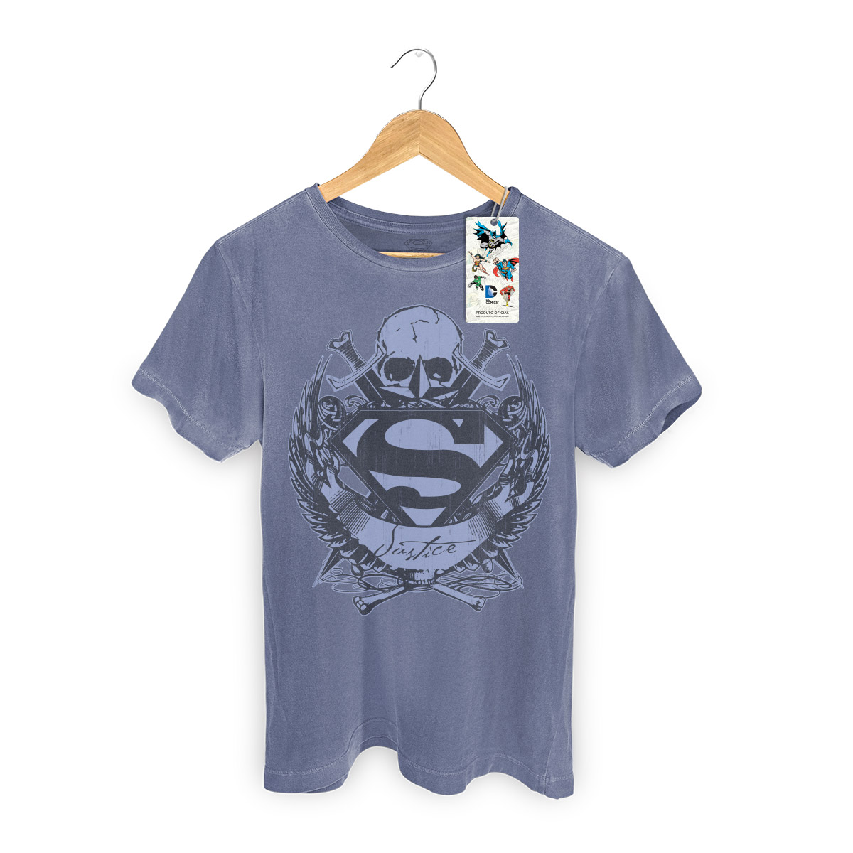 T-shirt Premium Masculina Superman Freaks Young Men