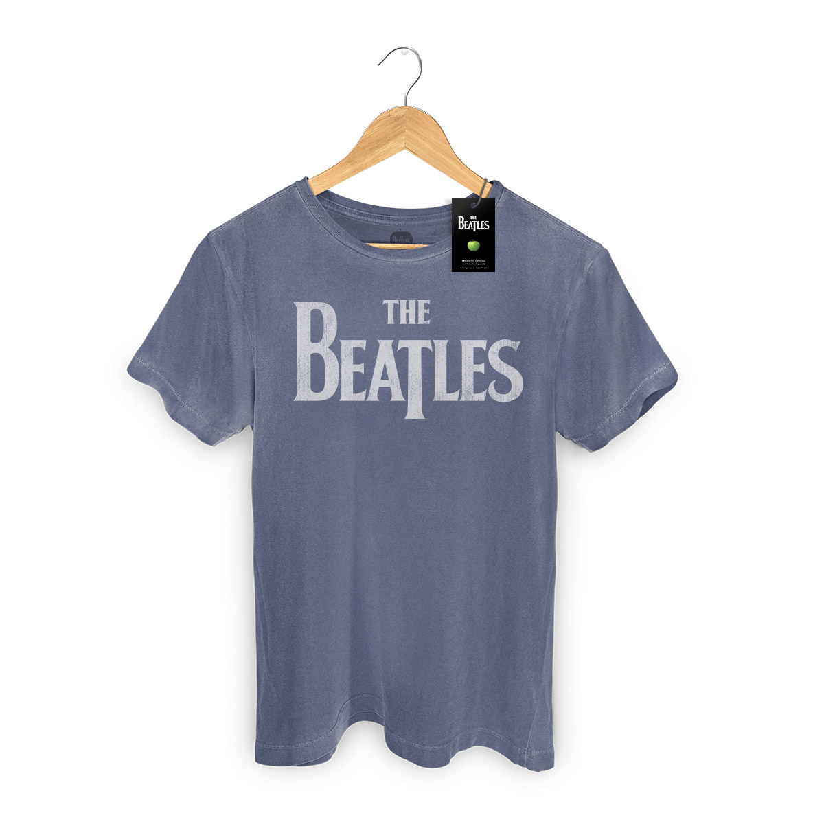 T-shirt Premium Masculina The Beatles Classic Logo