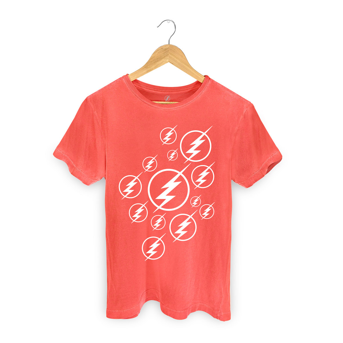 T-shirt Premium Masculina The Flash Serie Symbols