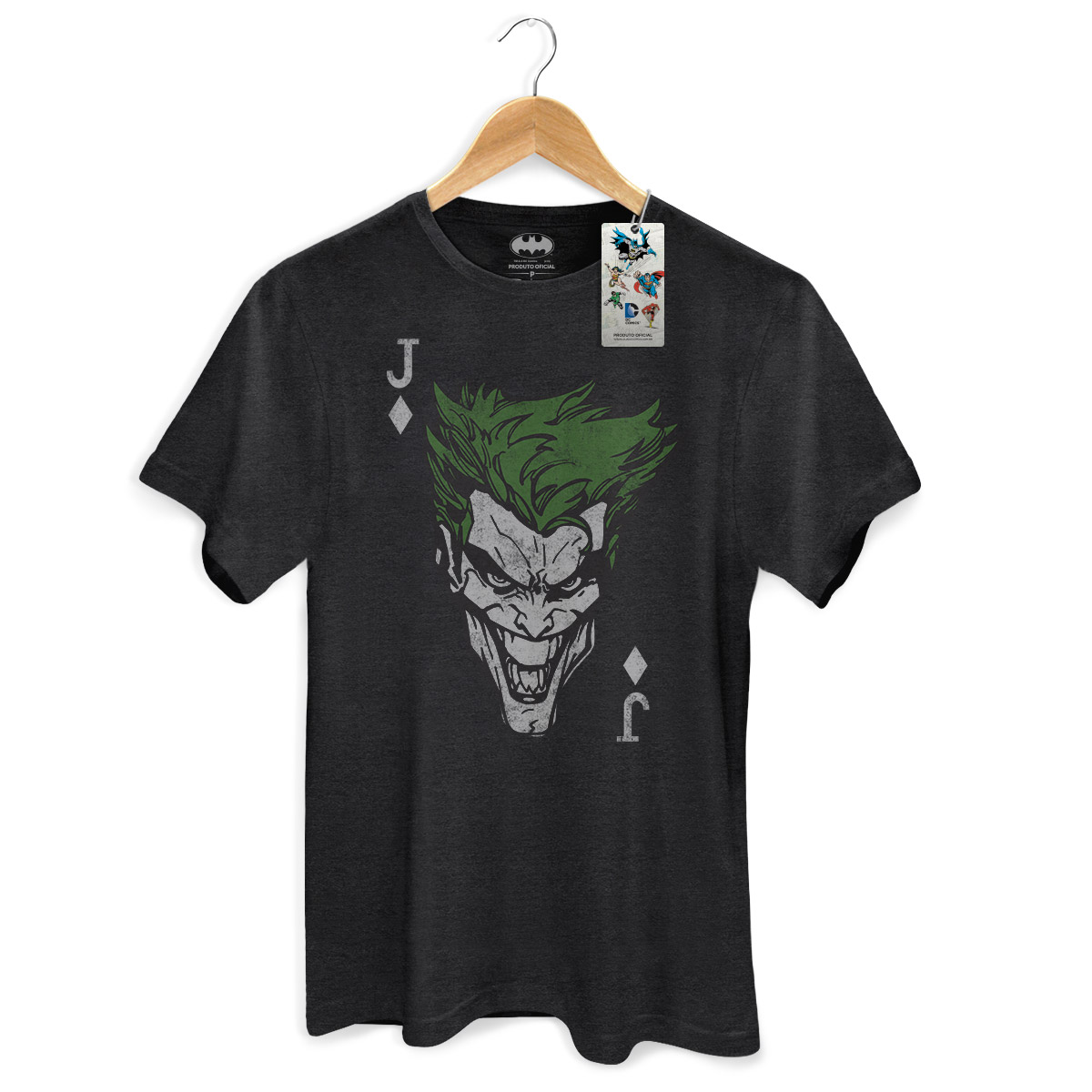 T-shirt Premium Masculina The Joker Card
