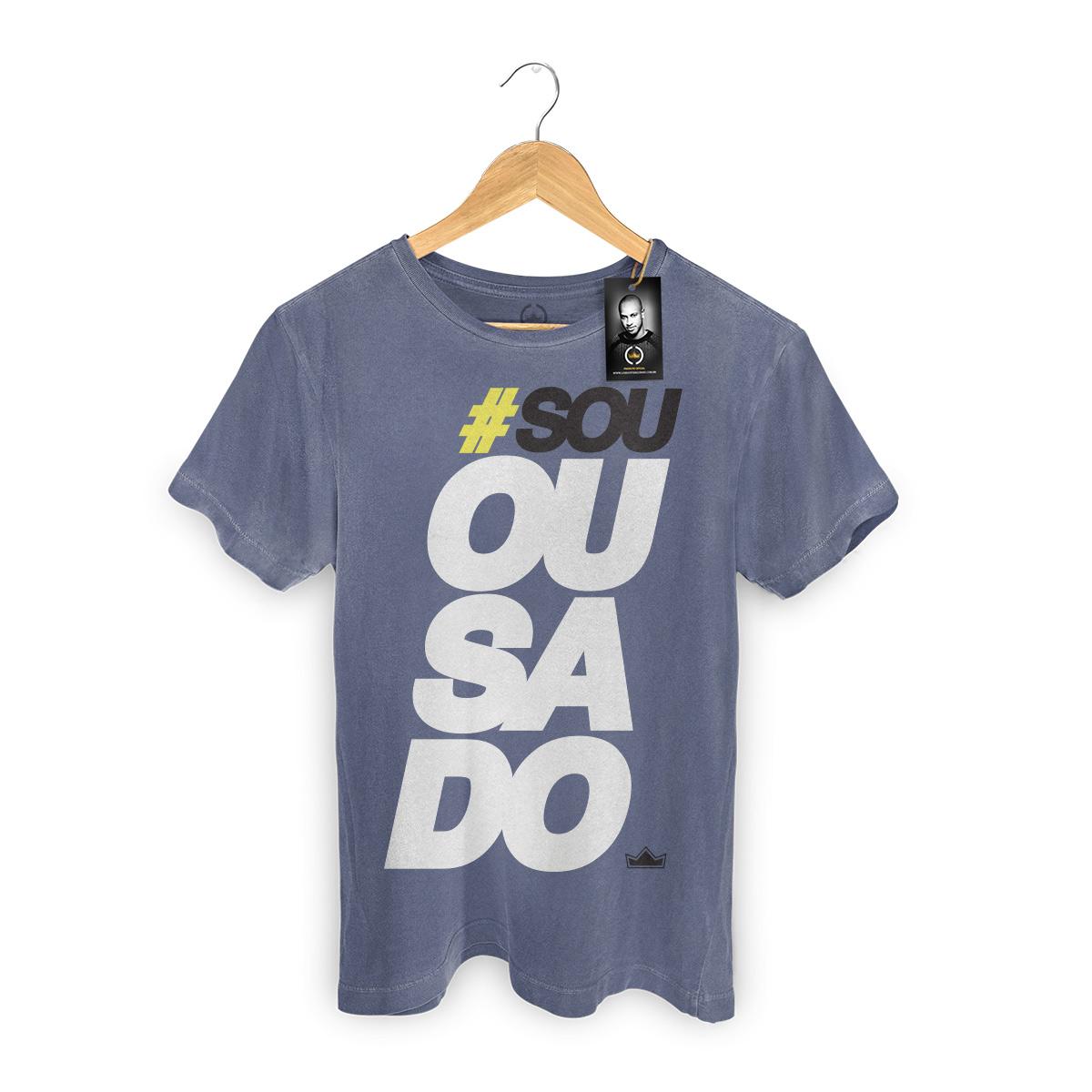 T-shirt Premium Masculina Thiaguinho Sou Ousado