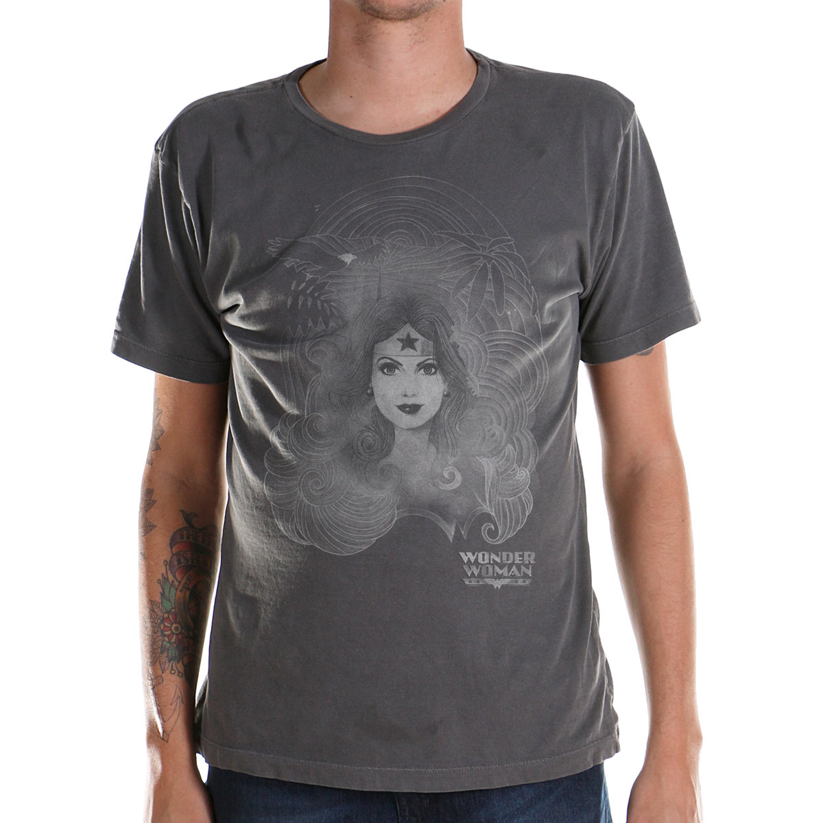 T-shirt Premium Masculina Wonder Woman X-Posure
