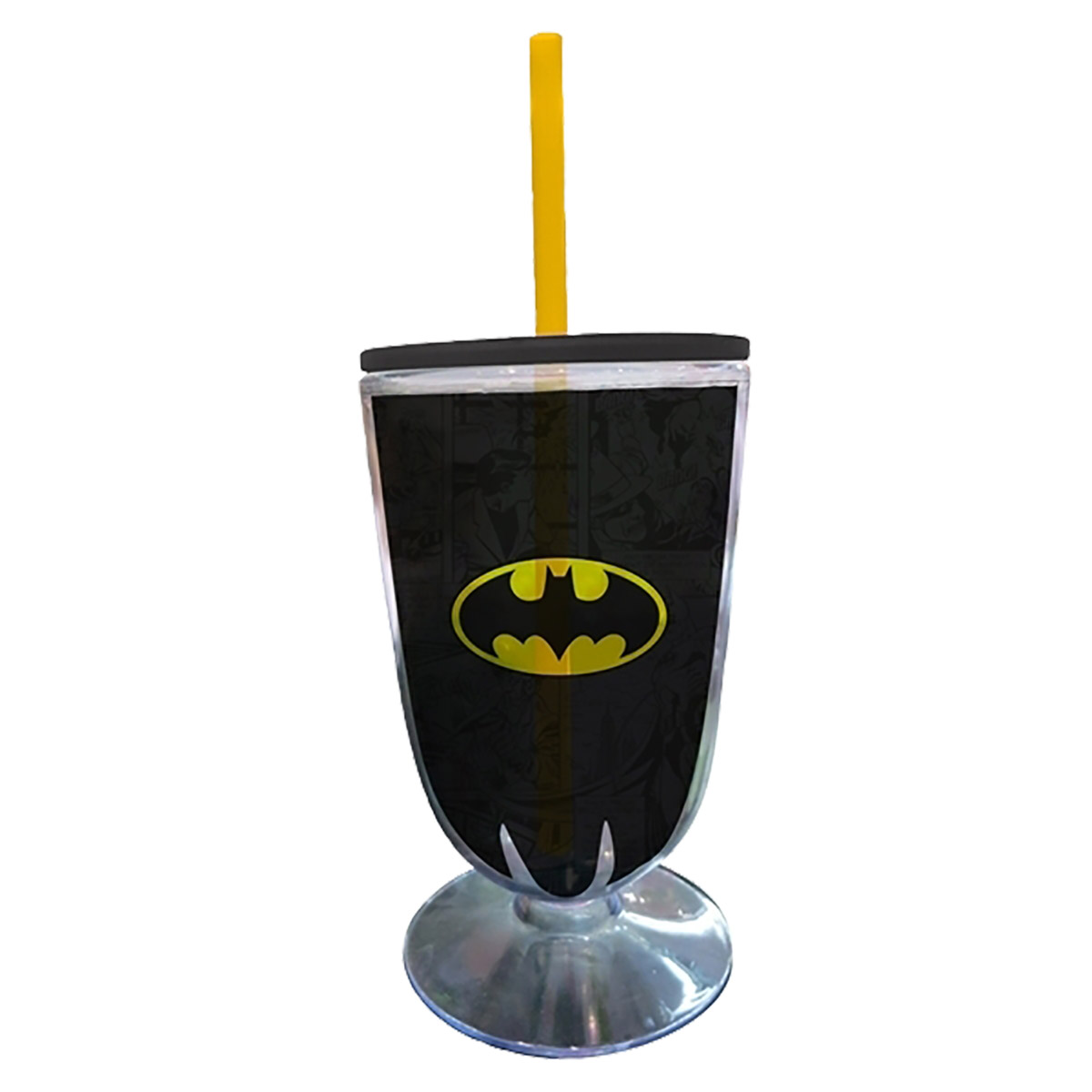 Taça Acrílica Batman Logo