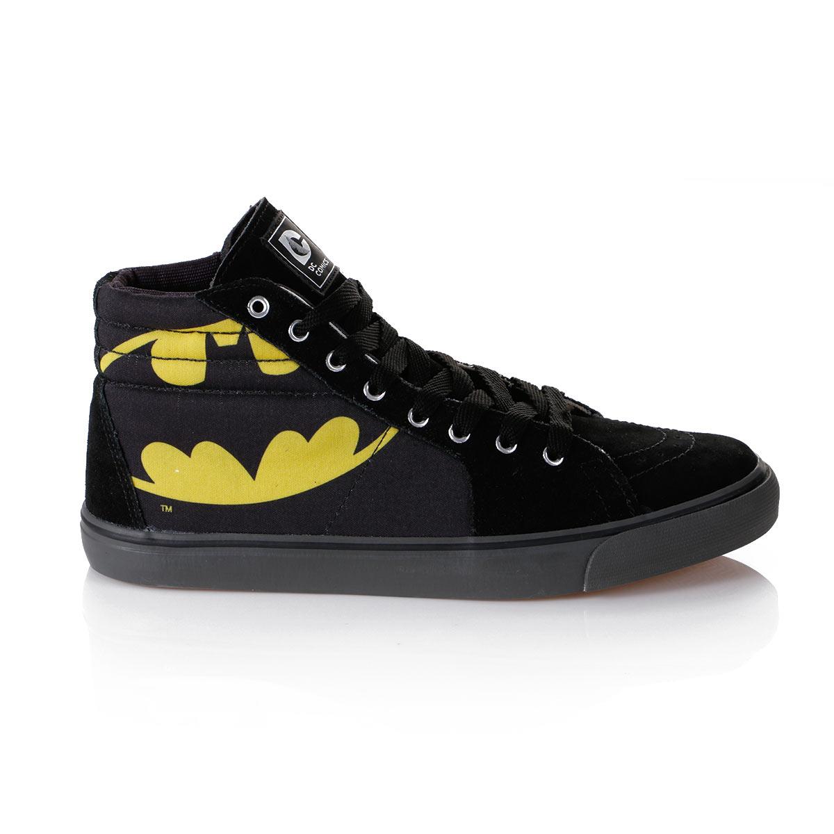 Tênis Cano Alto DC Comics Batman