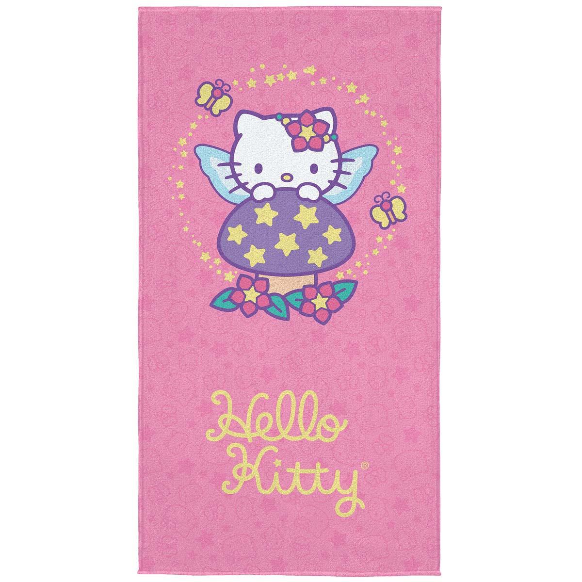 Toalha de banho Hello Kitty Fada