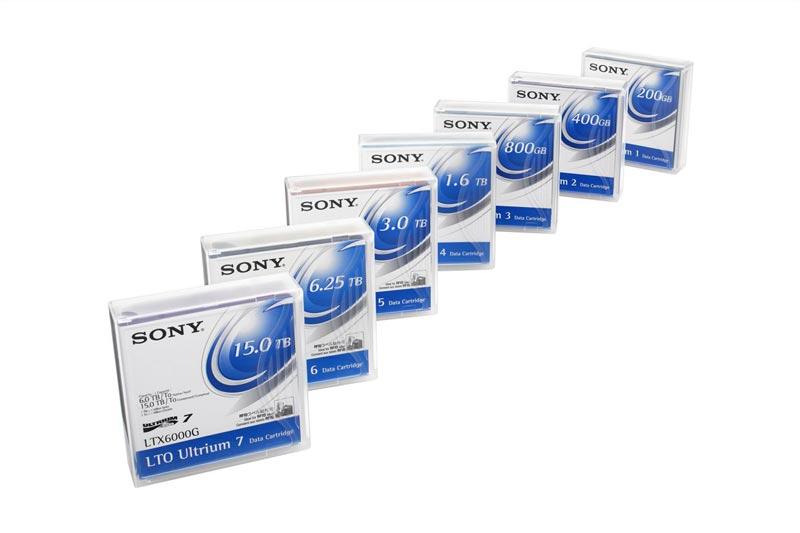 Fita LTO-4 1.6TB - SONY / LTX800G