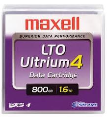 Fita LTO-4 1.6TB - MAXELL