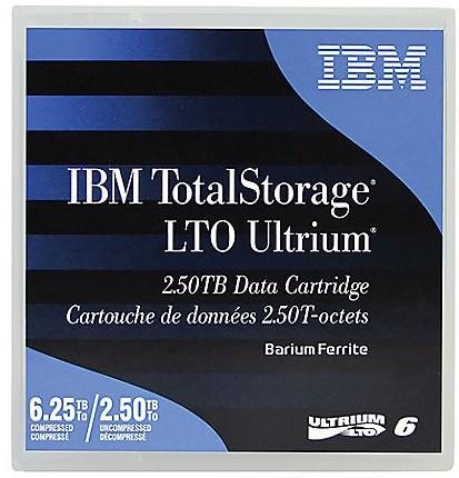 Fita LTO-6 2.5-6.25TB / IBM / 00V7590