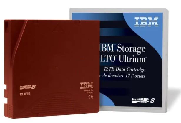 Fita LTO-8 IBM 30TB / 01PL041